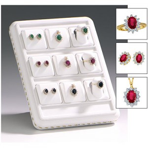 9 Piece Lady Di  Precious Assortment Display
