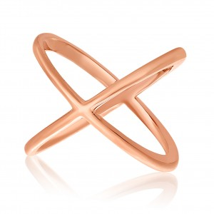14K Rose Gold Solid